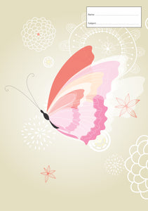 Book Cover - A4 - Butterfly