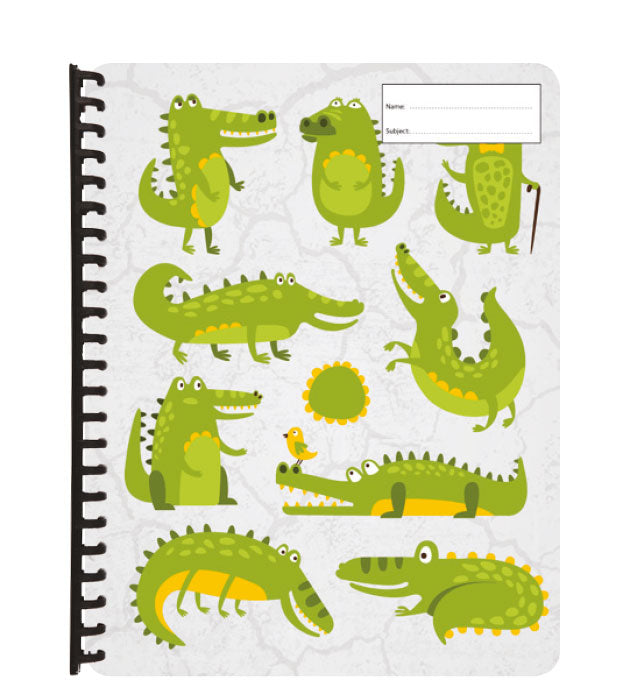 Display Folder - Crocodiles
