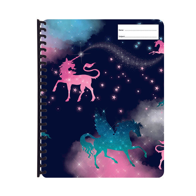 Display Folder - Sparkly Unicorns