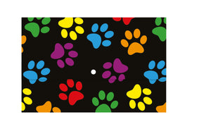 Document Wallet - Paw Prints