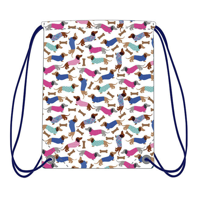 Drawstring Bag - Dachshunds