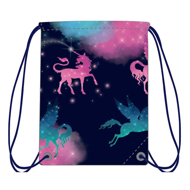Drawstring Bag - Sparkly Unicorn