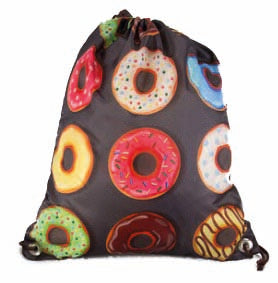Drawstring Bag - Donut