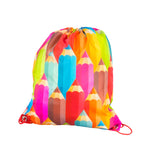 Drawstring Bag - Pencils