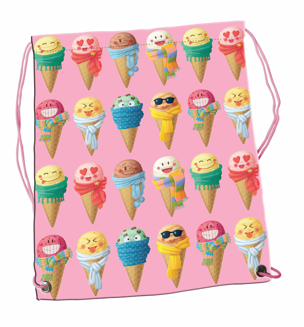 Drawstring Bag - Scoops