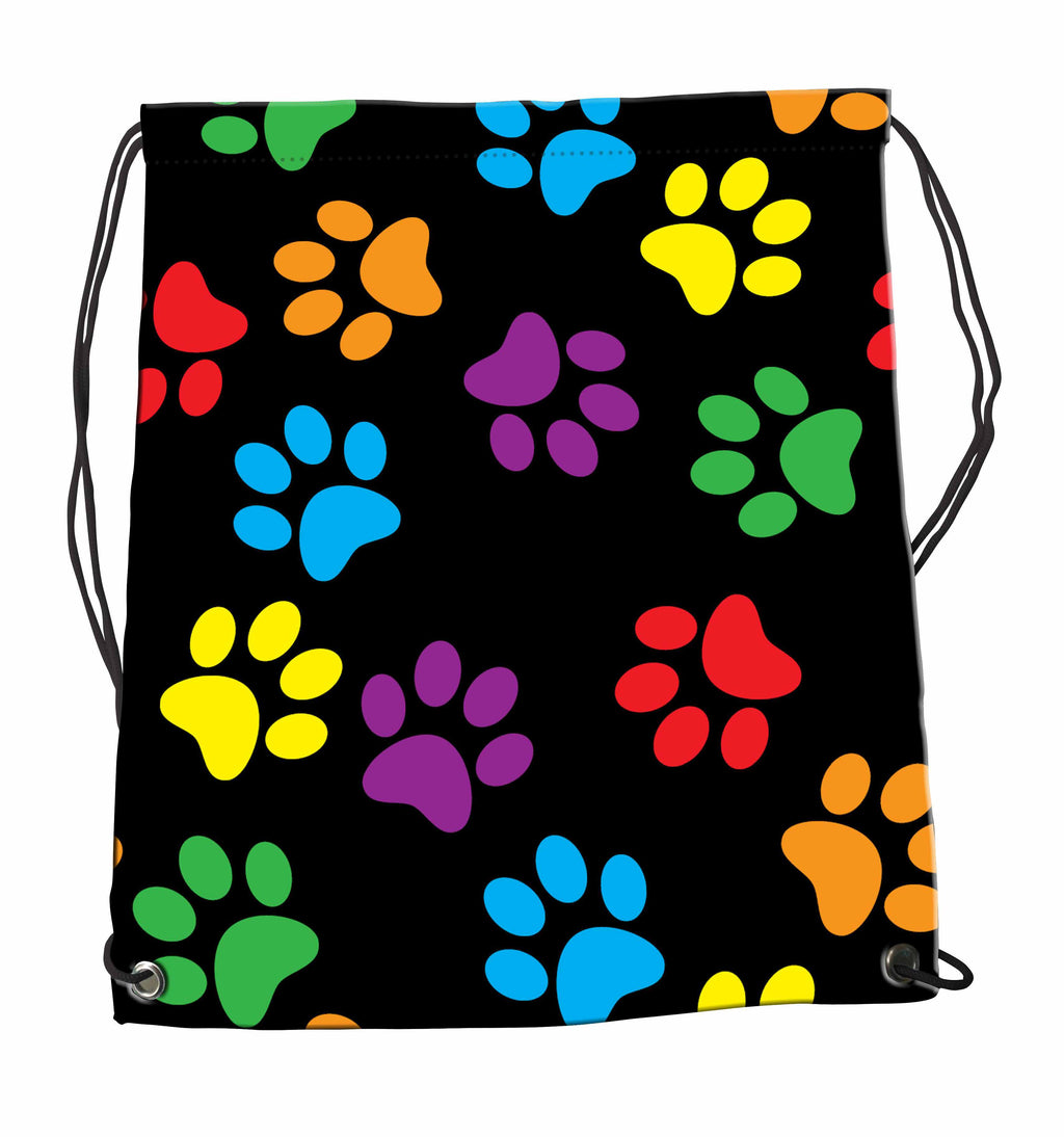 Drawstring Bag - Paw Prints