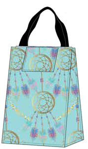 Lunch Bag - Teal Dream Catcher
