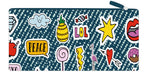 Long Pencil Case - Patches