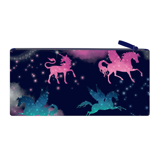 Long Pencil Case - Sparkly Unicorn