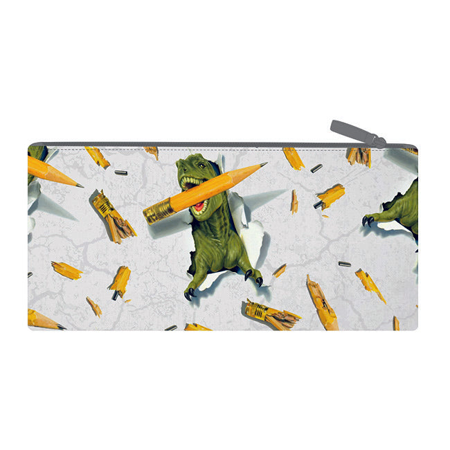 Long Pencil Case - Dino Pencil