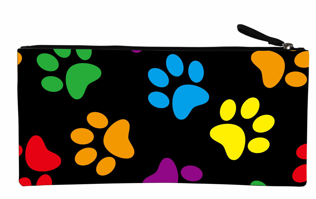 Long Pencil Case - Paw Prints