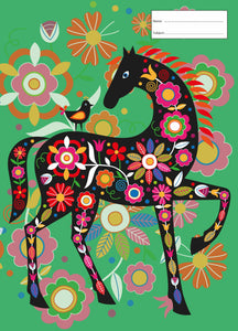 Book Cover - Scrapbook - Painted Horse