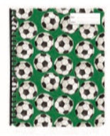 Display Folder - Soccer Balls