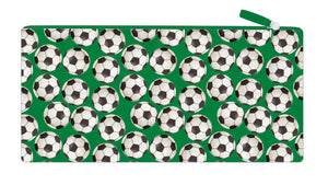 Long Pencil Case - Soccer Balls