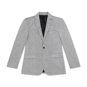 Men's Light Grey Tailored Blazer