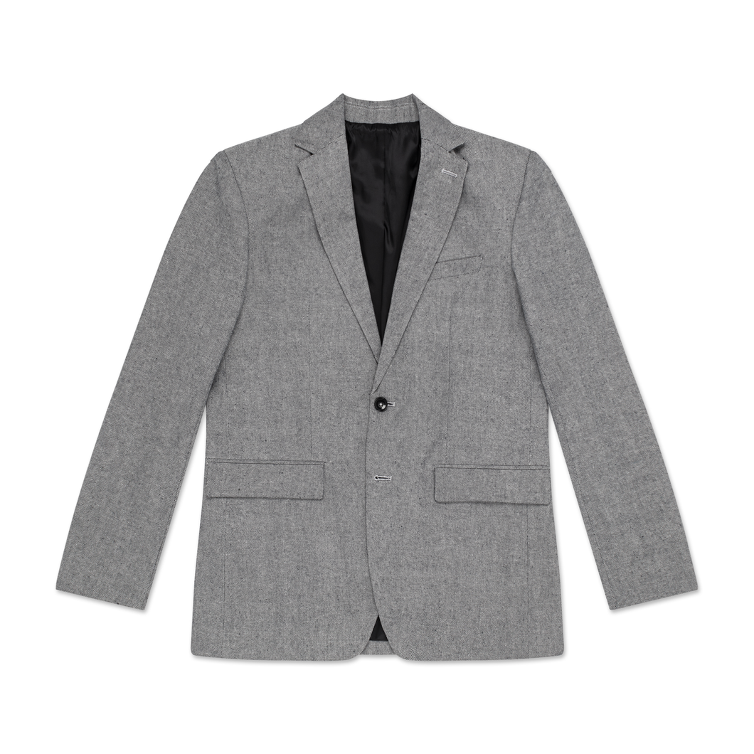 Men's Dark Grey Tailored Blazer