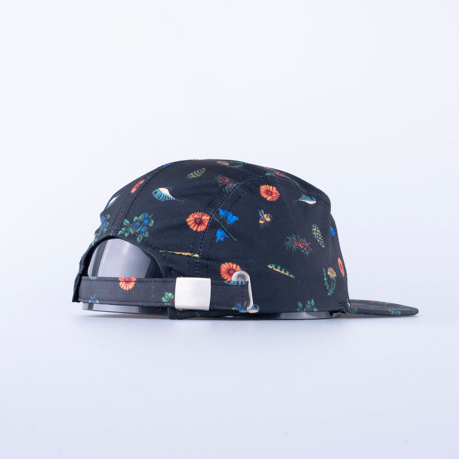 KIDS 5-PANEL KEPS - BEST OF BLACK