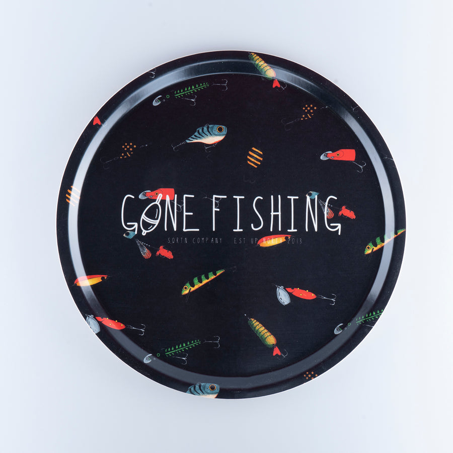 GONE FISHING BRICKA 38CM - LURE BLACK