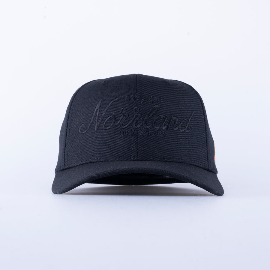 GREAT NORRLAND FLEX KEPS - ALL BLACK