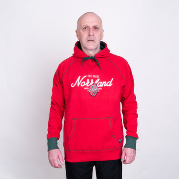 GREAT NORRLAND HOOD - MODO RED