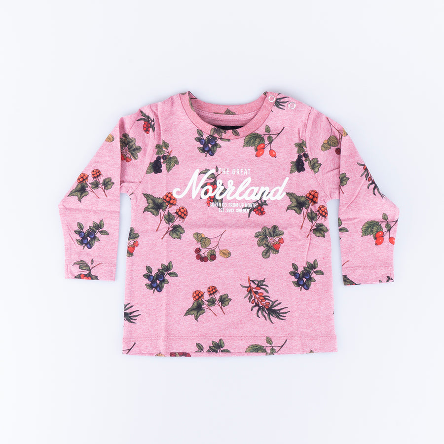 GREAT NORRLAND LONGSLEEVE - BERRY PINK