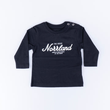 GREAT NORRLAND LONGSLEEVE - BLACK