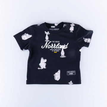 GREAT NORRLAND KIDS T-SHIRT - MUMIN BLACK
