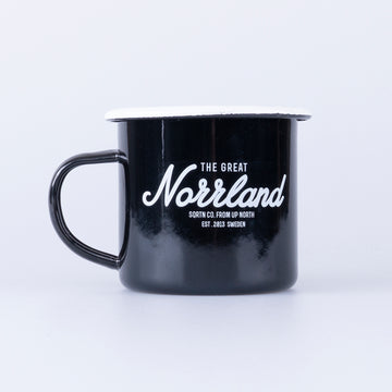 GREAT NORRLAND MUGG - BLACK