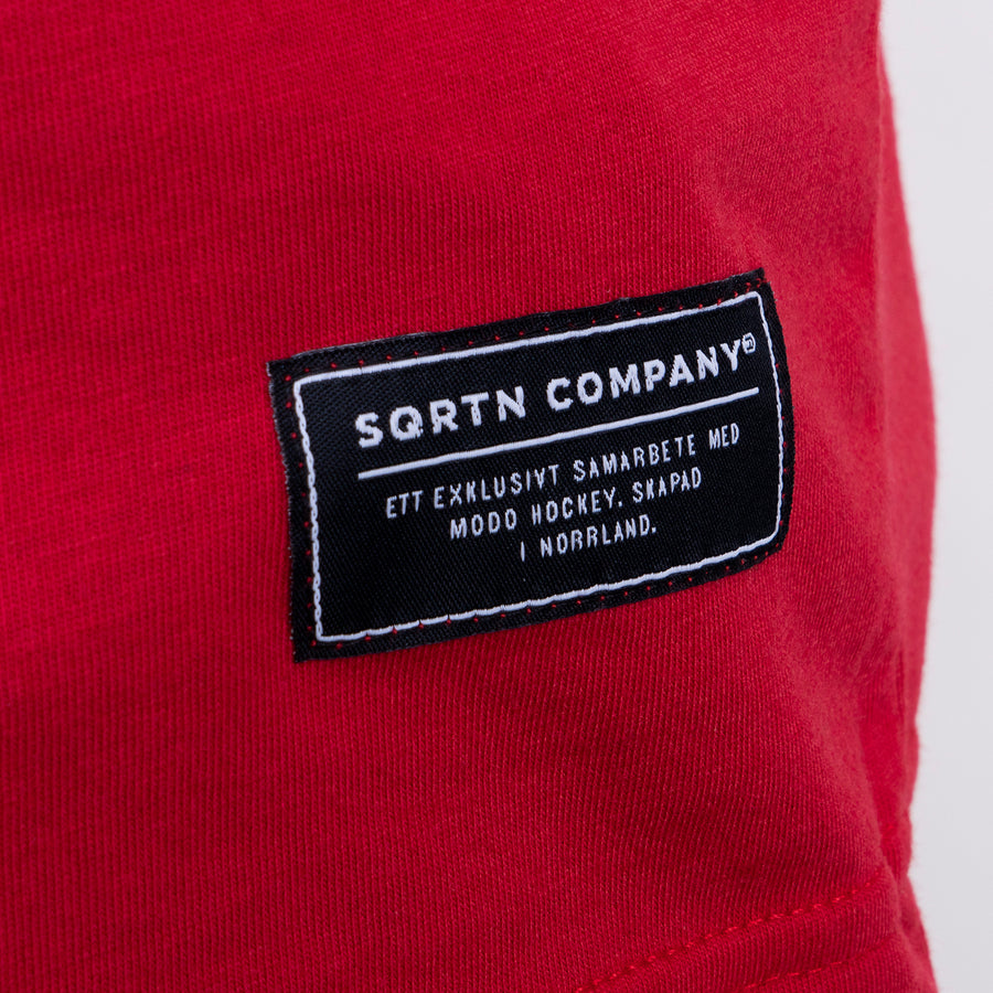 GREAT NORRLAND T-SHIRT - MODO RED