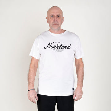 GREAT NORRLAND T-SHIRT - WHITE