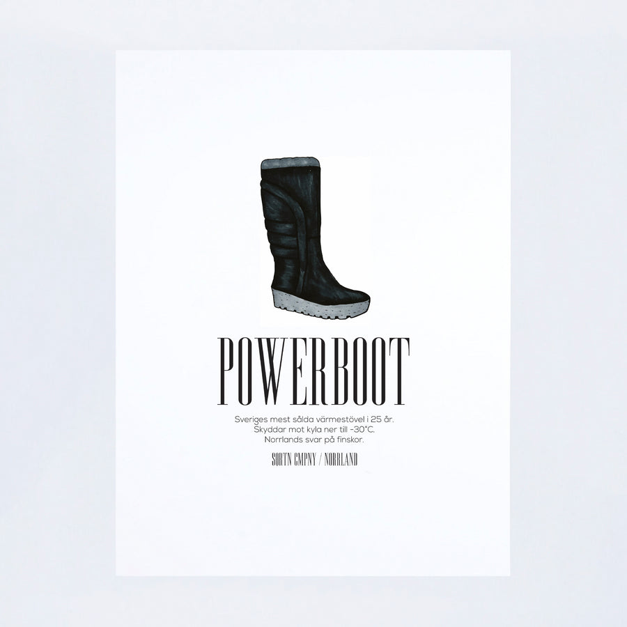POSTER POWERBOOT