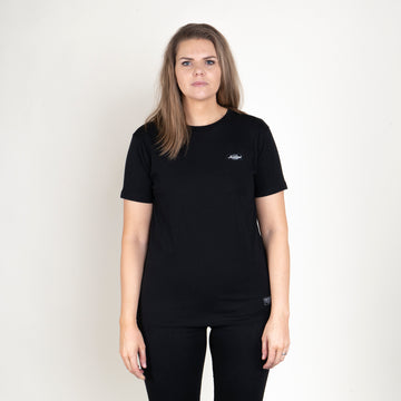 TGN PATCH T-SHIRT - BLACK