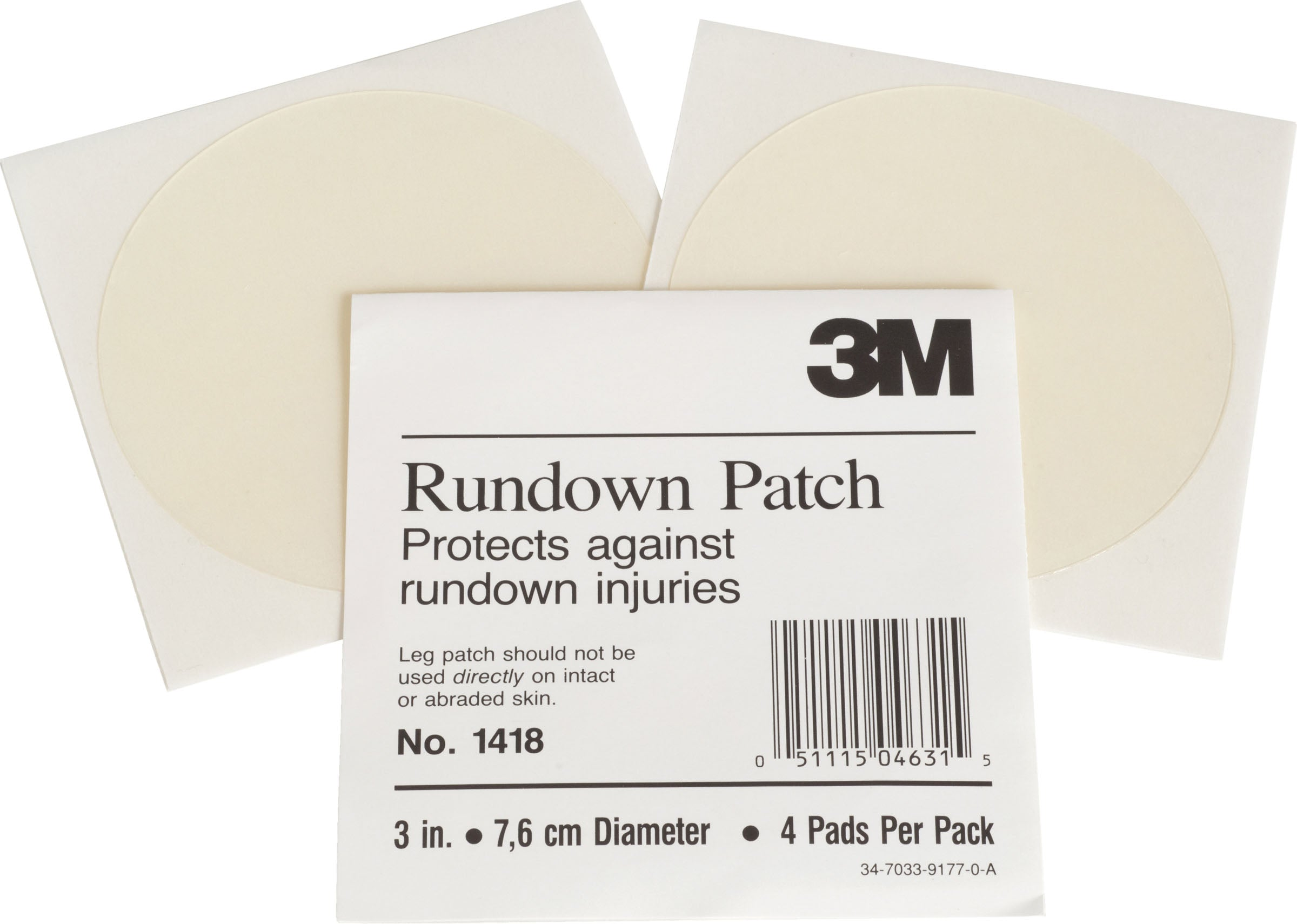 3m D-3 Inch/4 Pack