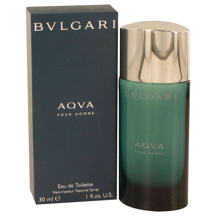 AQUA POUR HOMME by Bvlgari Eau De Toilette Spray 1 oz for Men