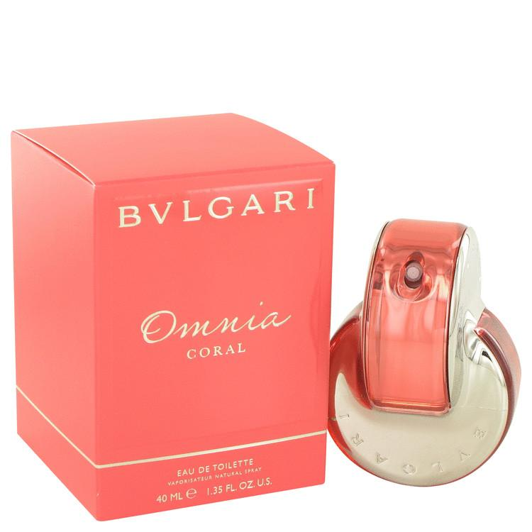 Omnia Coral by Bvlgari Eau De Toilette Spray 1.4 oz for Women