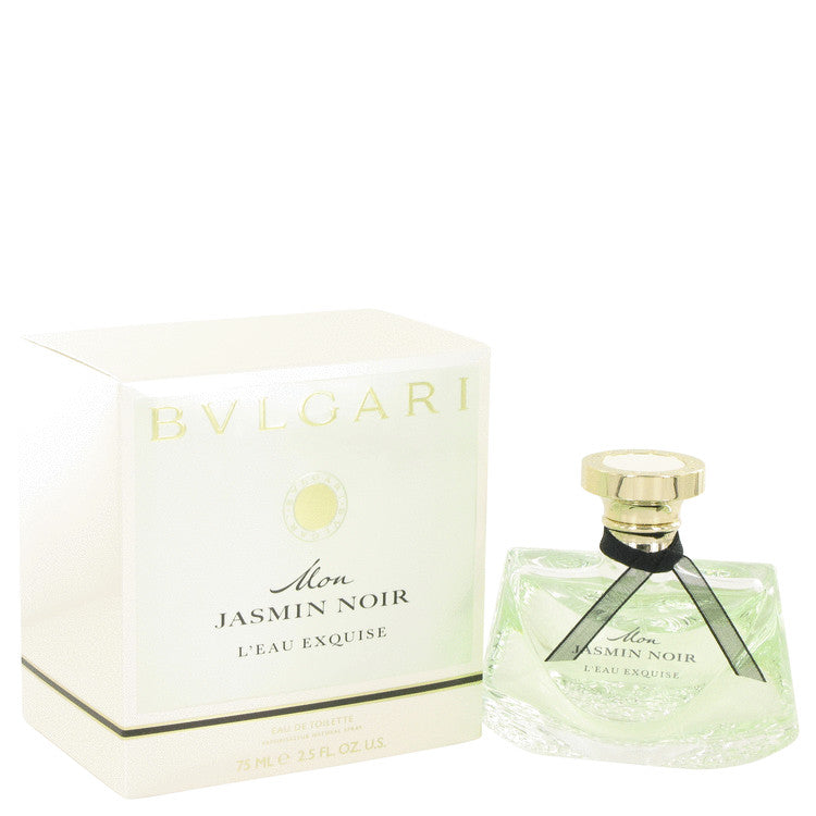 Mon Jasmin Noir L'eau Exquise by Bvlgari Eau De Toilette Spray 2.5 oz for Women