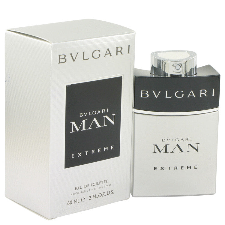 Bvlgari Man Extreme by Bvlgari Eau De Toilette Spray 2 oz for Men