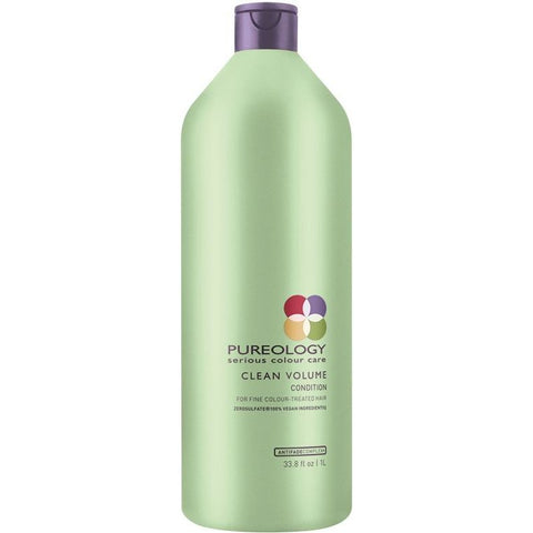 Pureology Clean Volume Conditioner Liter - Omaet The Salon