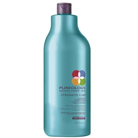 Pureology Strength Cure Conditioner Liter - Omaet The Salon