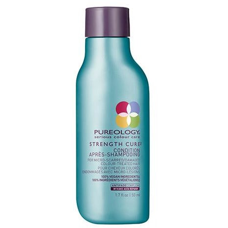 Pureology Strength Cure Conditioner Travel Petite - Omaet The Salon