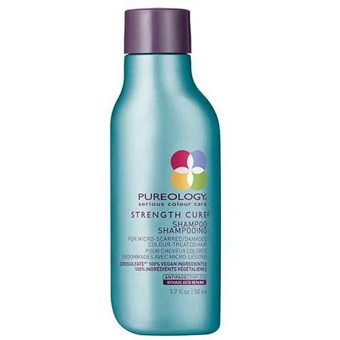 Pureology Strength Cure Shampoo Travel Petite - Omaet The Salon