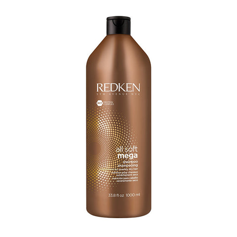 Redken All Soft Mega Shampoo Liter - Omaet The Salon