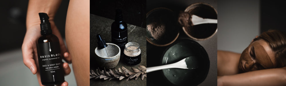 Oasis Black - All Natural, Organic, vegan and cruelty free Skincare Products