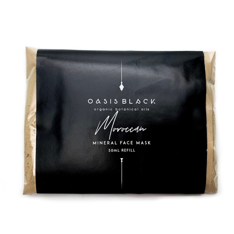 Oasis Black Moroccan Mineral Face Mask