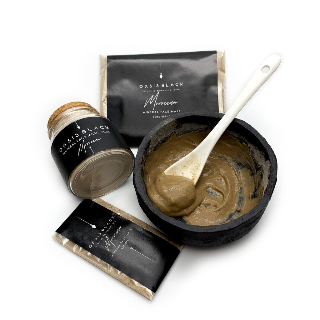 Moroccan Mineral Face Mask