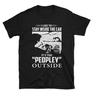 Too peopley outside (Black)