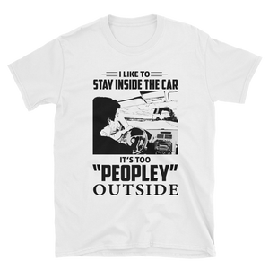 Too peopley outside (White)