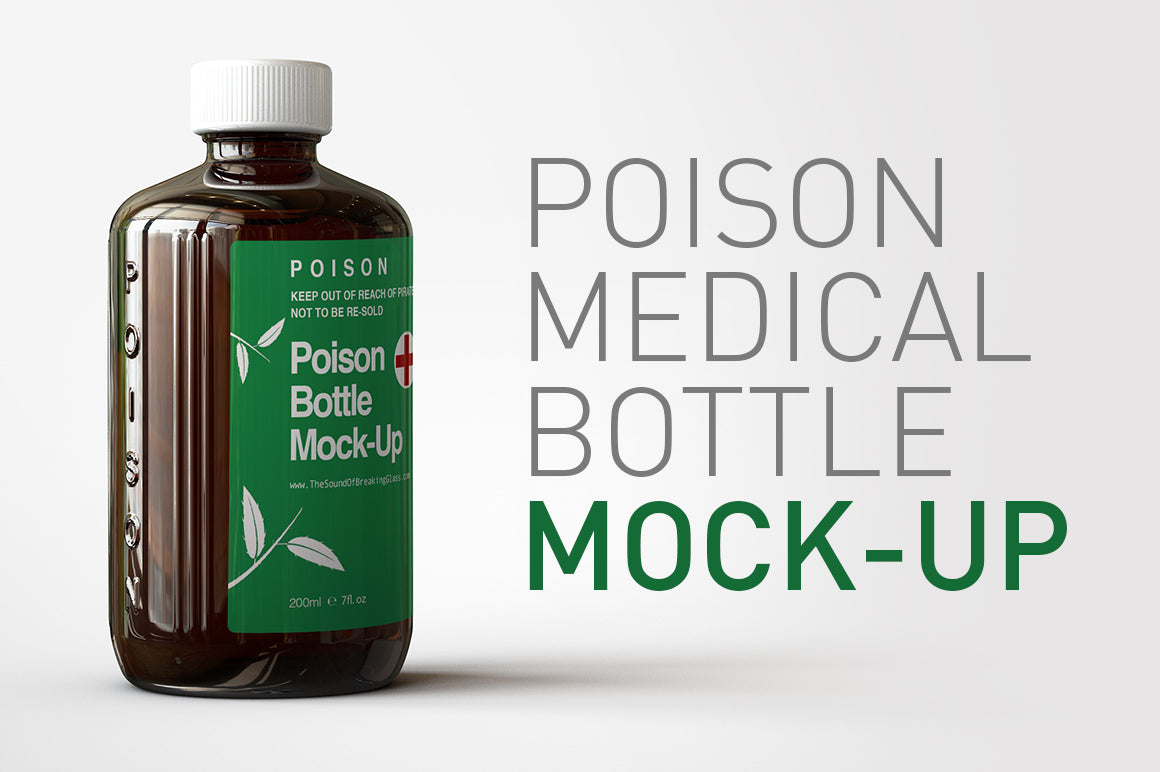 Poison Bottle Mock-Up