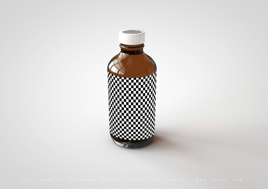 Amber Cosmetics | Medical Bottle Mock-Up