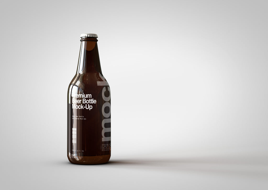 Beer | Lager Mock-Up 330ml | 11 Fl Oz